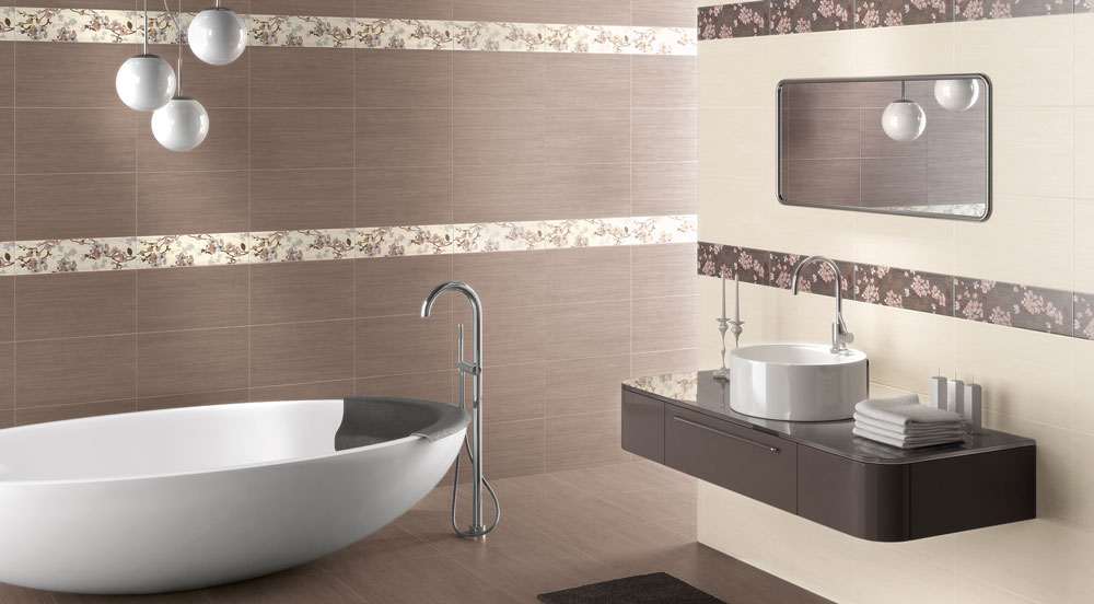 Foto rivestimenti bagno moderni idee per il design della - Rivestimenti piastrelle bagno ...